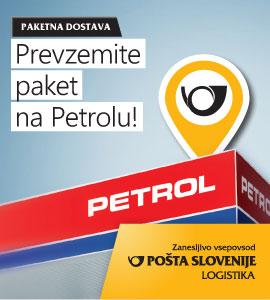 Pošta Slovenije Oglas